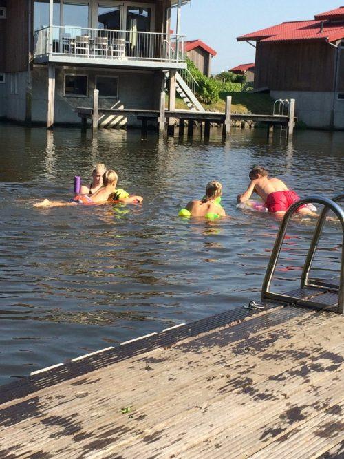 zwemmen voorhuis