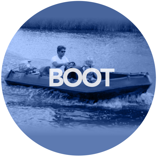 Boot-blauw-rond